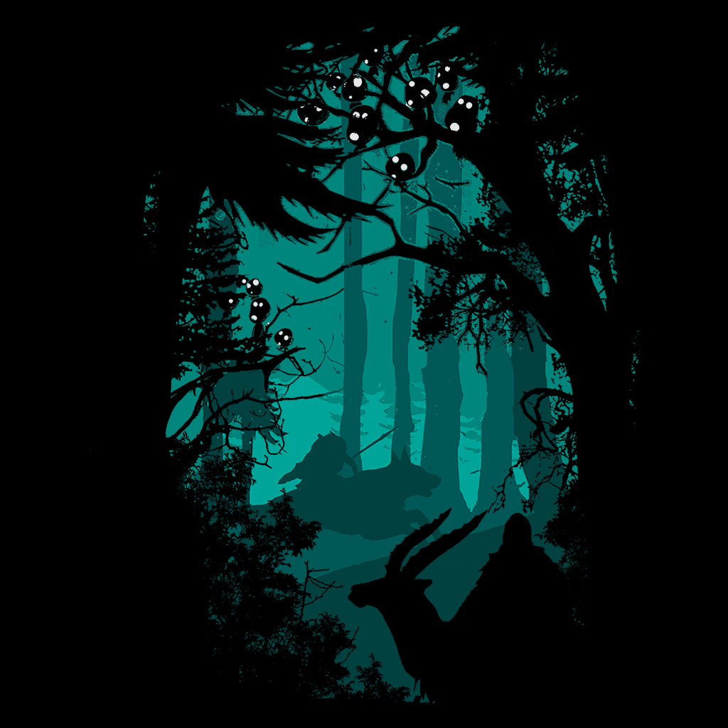 Pop-Up Tee: 1.4 Forest
