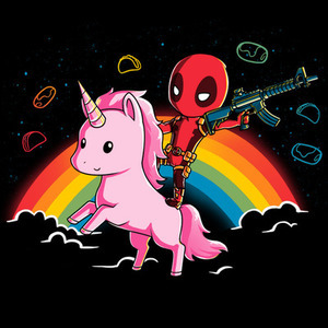 TeeTurtle: Epic Deadpool Shirt