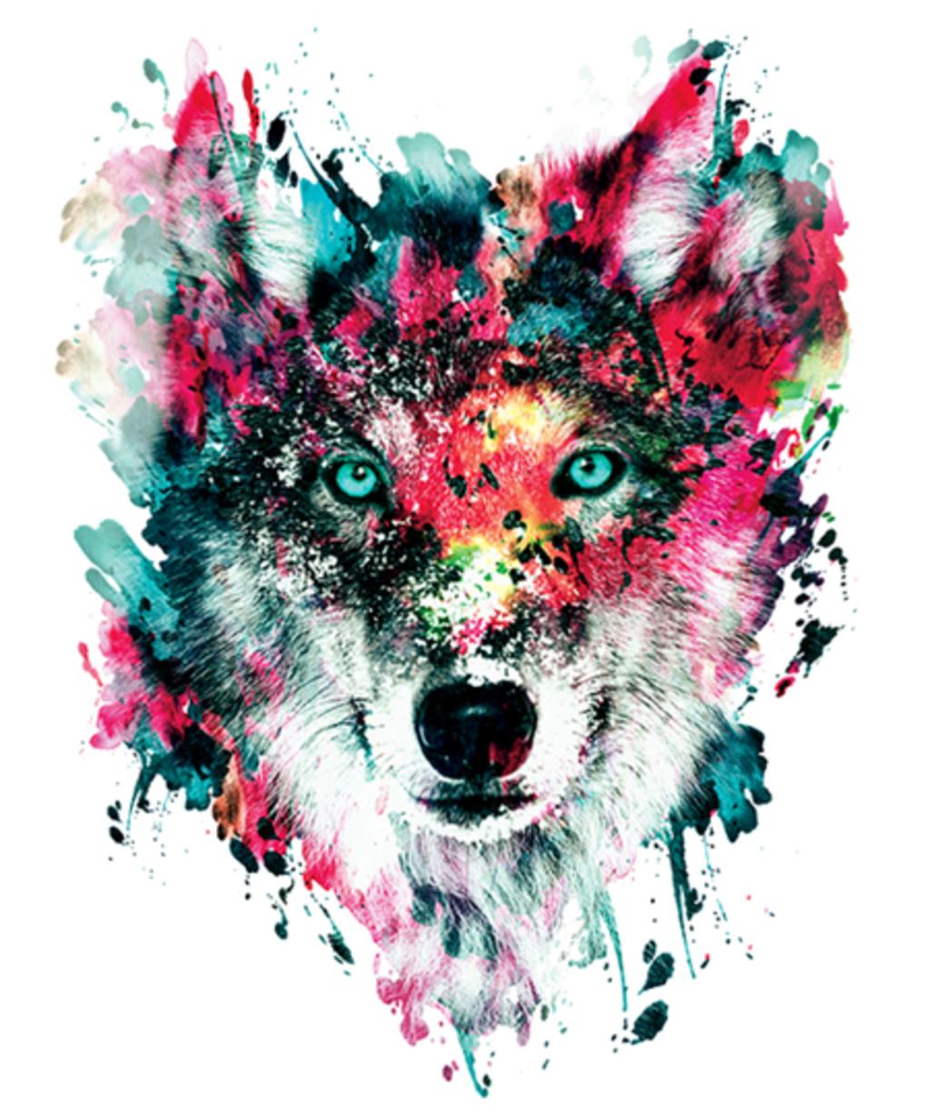 Qwertee: The Wolf