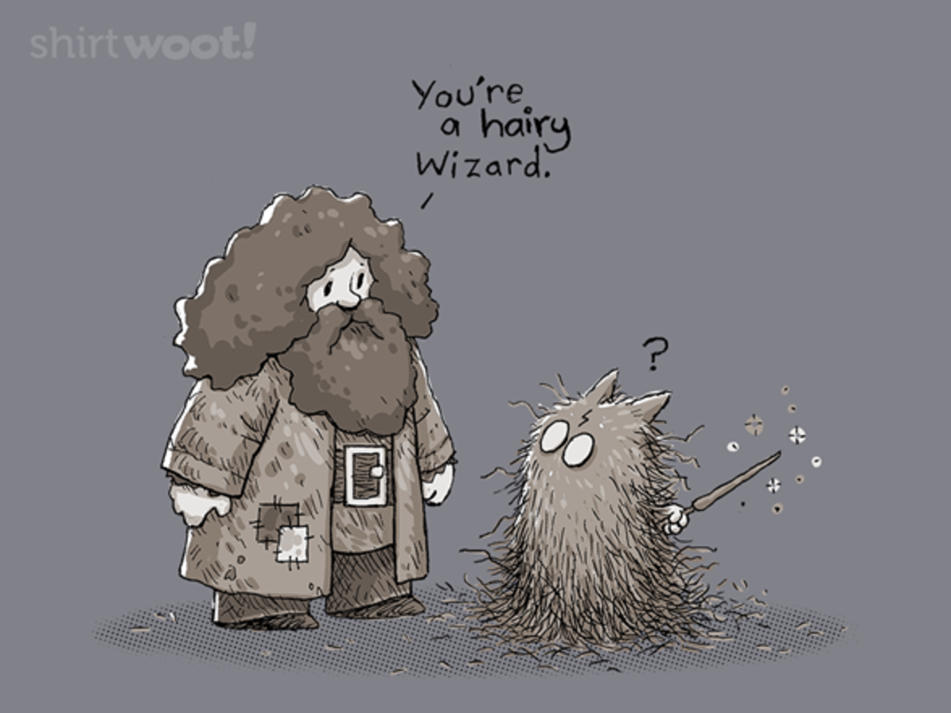 Woot!: You're A Hairy Wizard