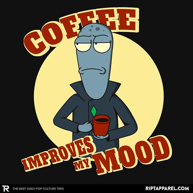 Ript: Coffee Improves My Mood