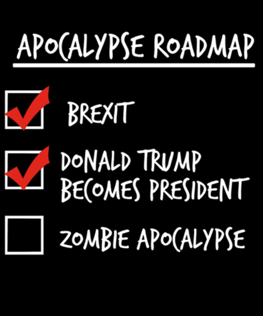 Qwertee: Apocalypse Roadmap (Updated)