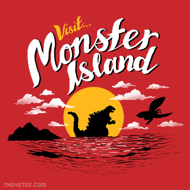 The Yetee: Visit Monster Island