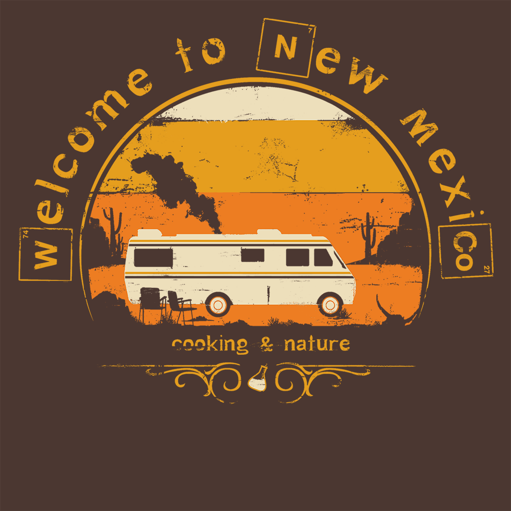Pop-Up Tee: Welcome to New Mexico