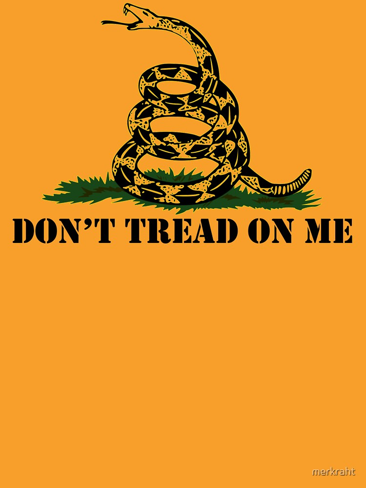 RedBubble: Republican Conservative Gifts - Gadsden Flag Don't Tread on Me Gift Ideas for Patriotic Right Wing American Republicans