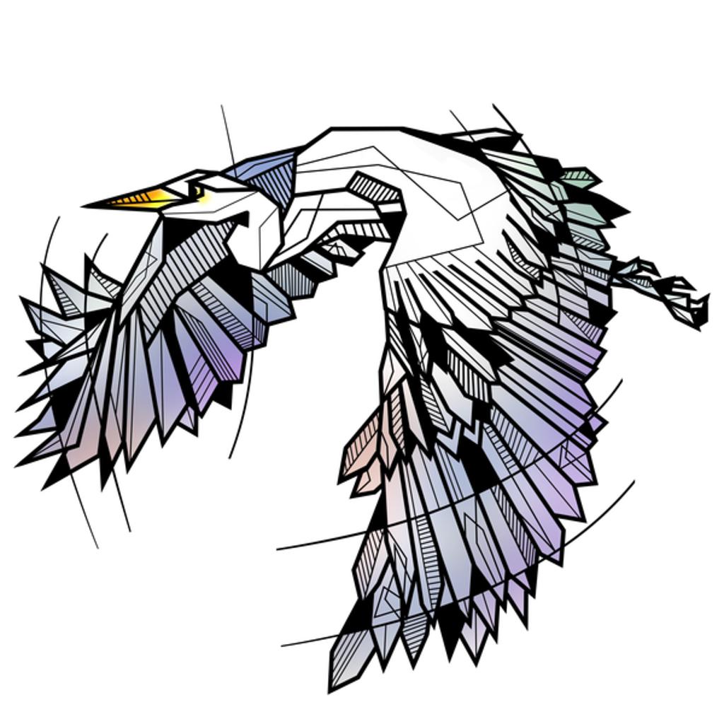NeatoShop: Heron Geometric bird