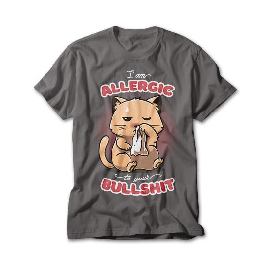 OtherTees: Allergic to your Bullshit