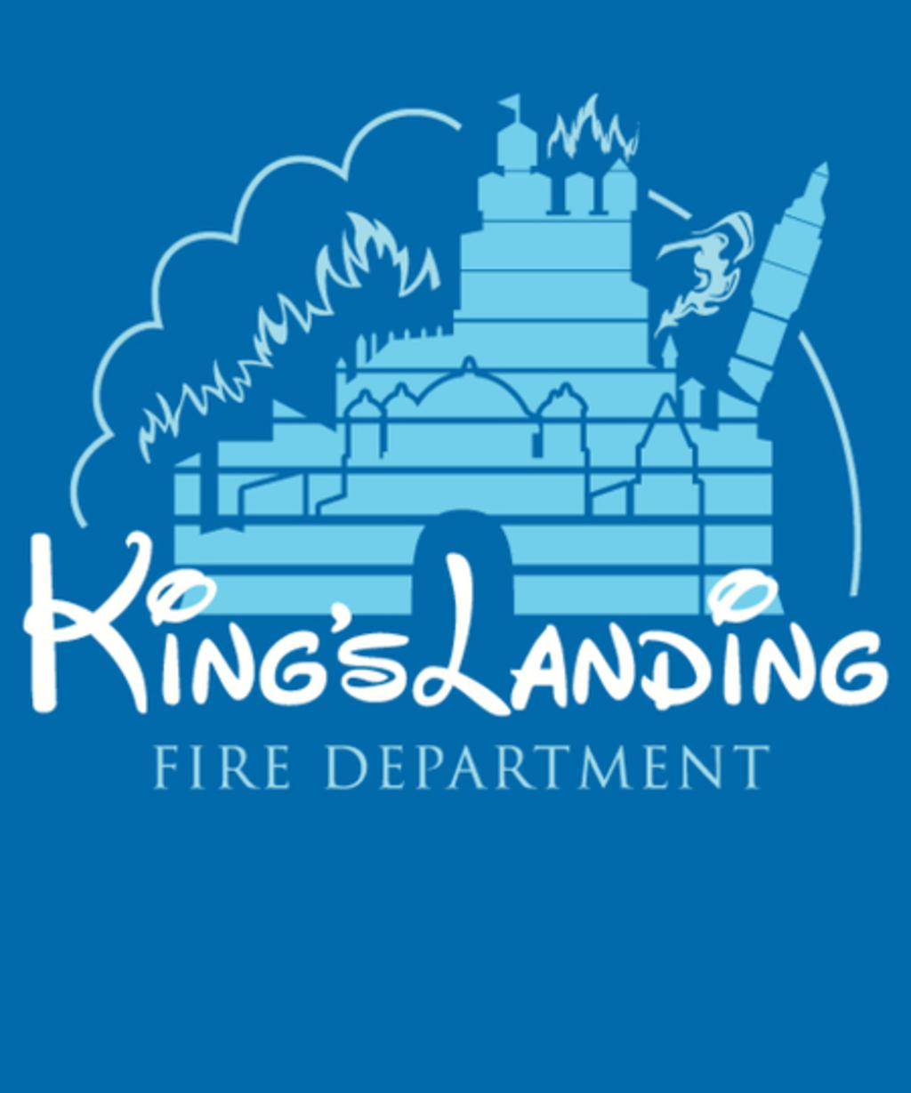 Qwertee: King's Landing Fire Department