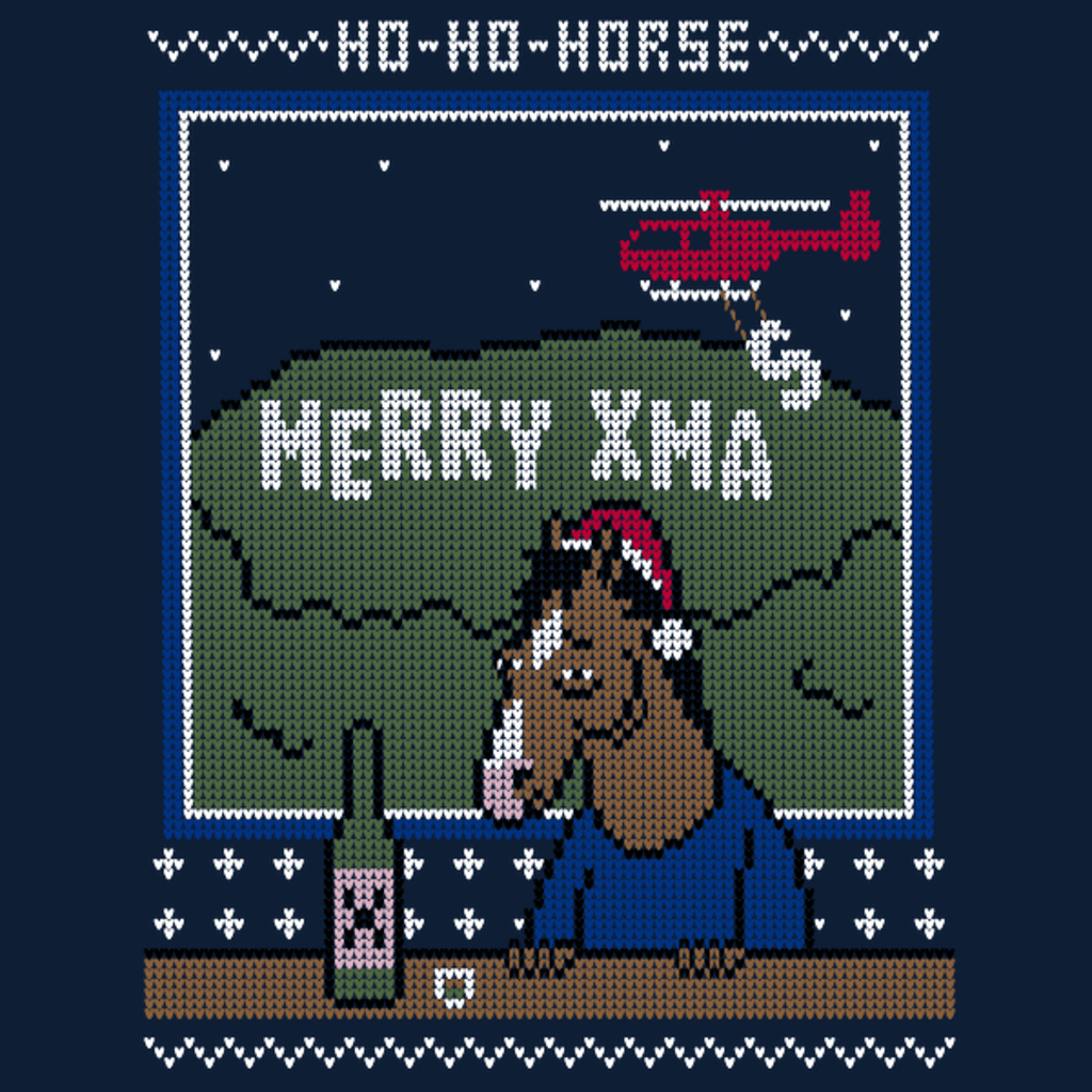 NeatoShop: Ho-Ho-Horse!