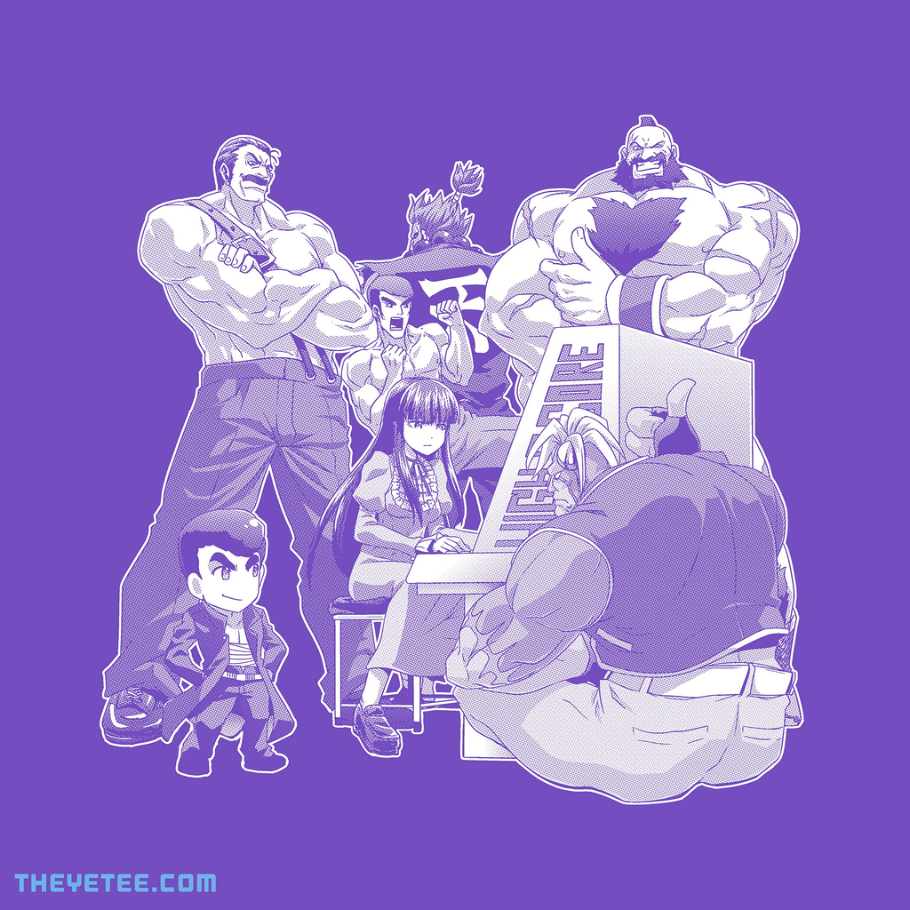 The Yetee: Go for the high score!