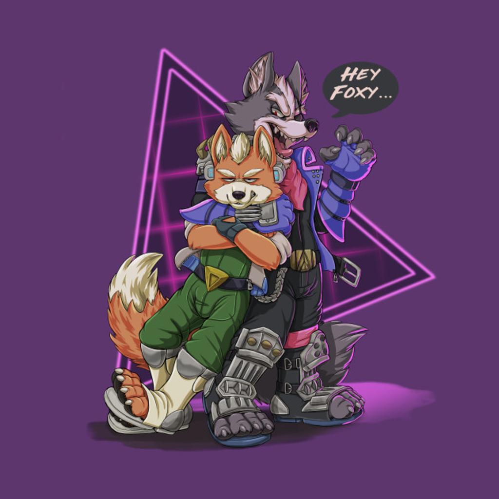 TeePublic: Hey Foxy