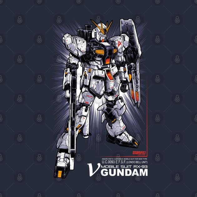 TeePublic: Nu Gundam