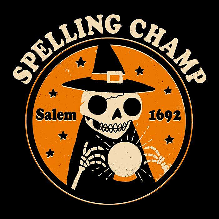 Once Upon a Tee: Spelling Champ