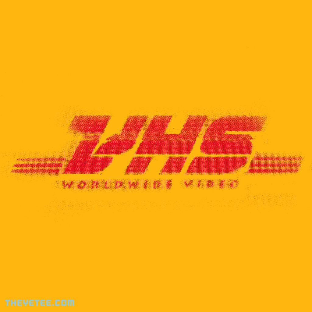 The Yetee: VHS WORLDWIDE VIDEO