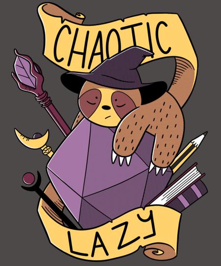 Qwertee: RPG Sloth