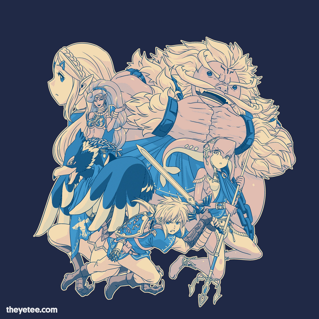 The Yetee: Heroes Unite