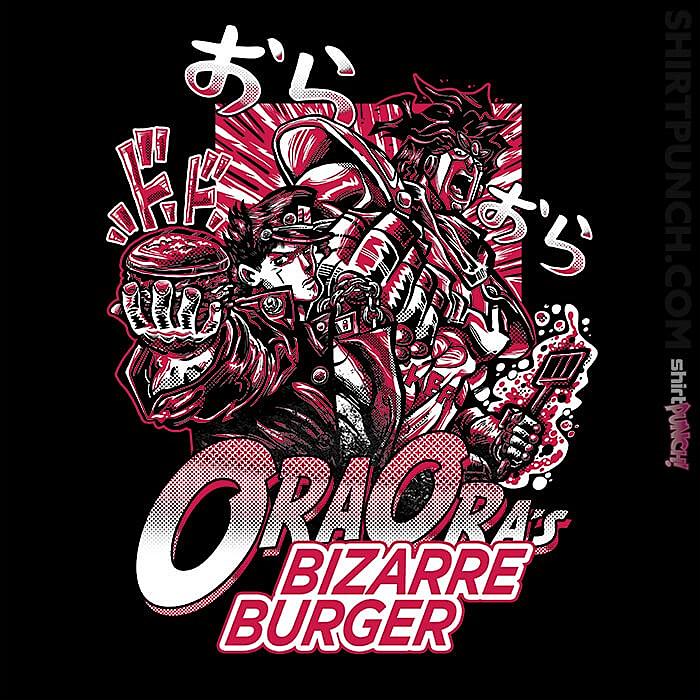 ShirtPunch: Bizarre Burger