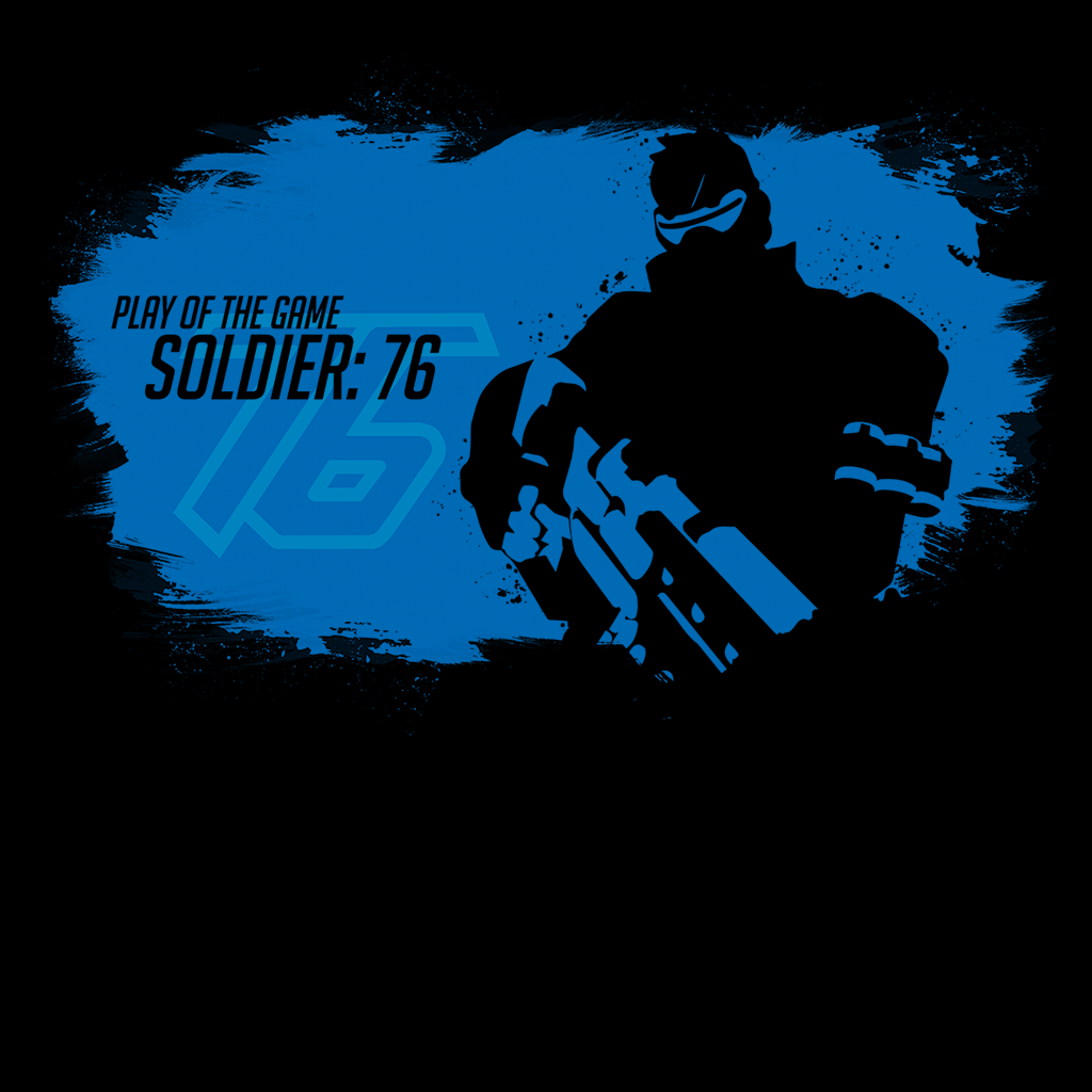Pop-Up Tee: Soldier 76