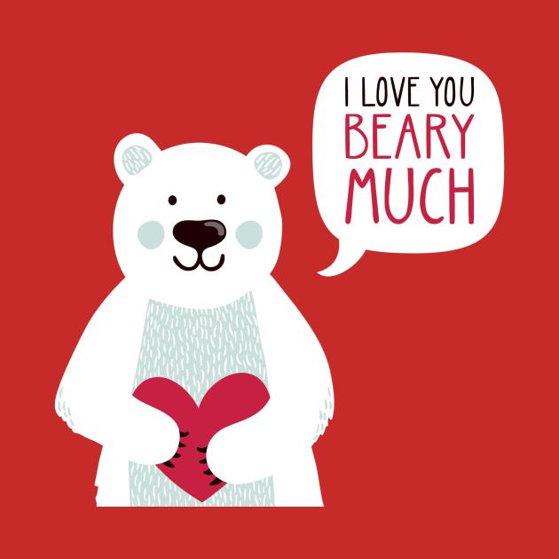 TeePublic: Valentine's Bear
