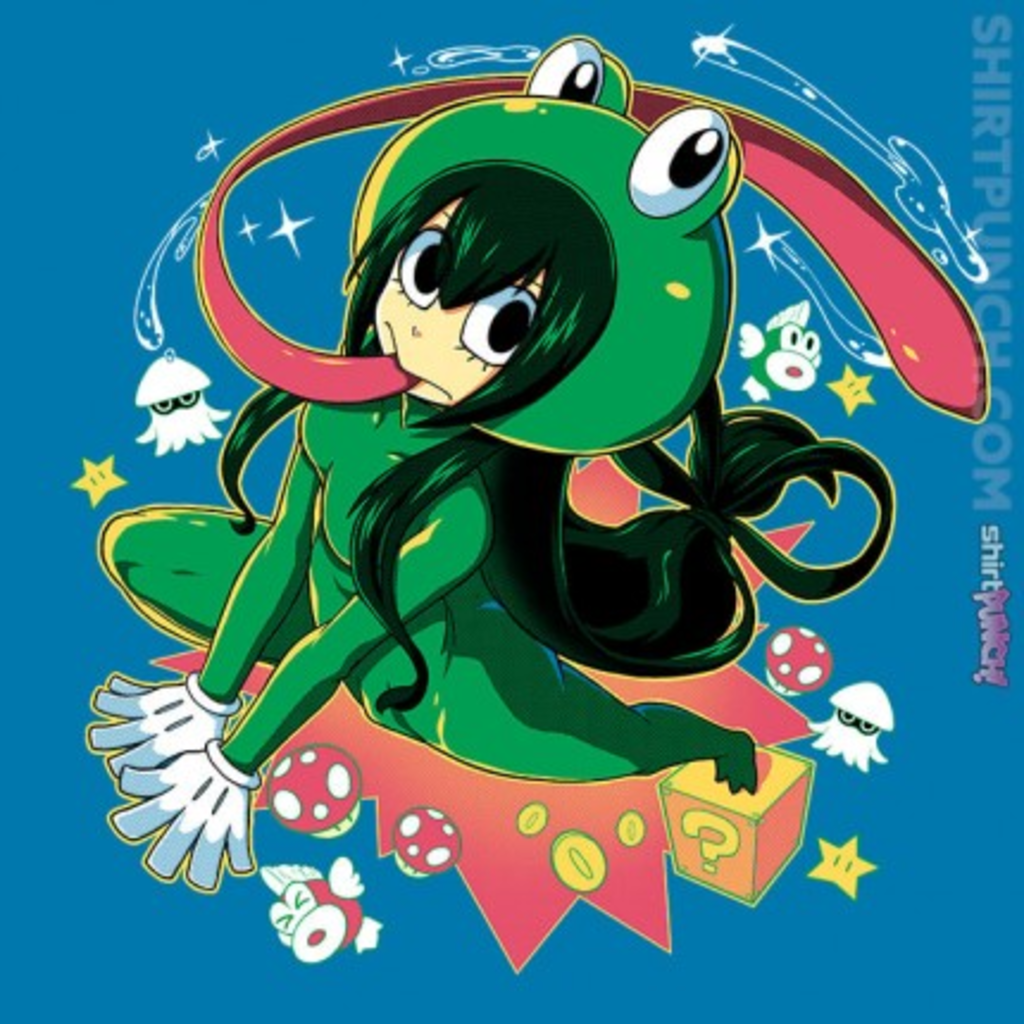 ShirtPunch: Frog Suit