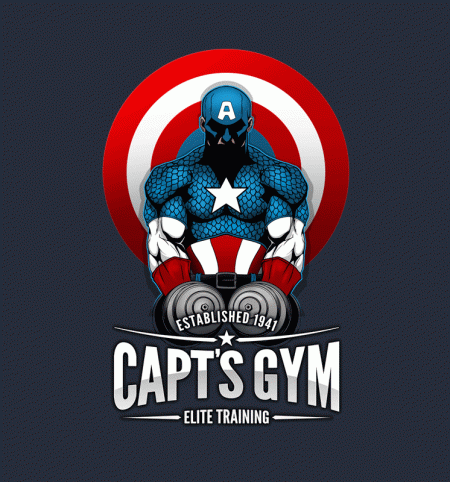 BustedTees: Capt's Gym