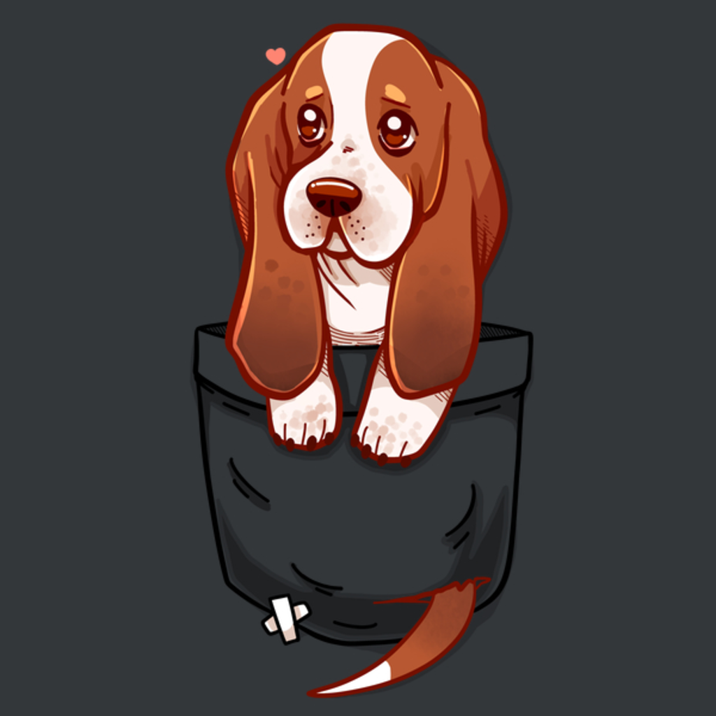 NeatoShop: Pocket Cute Basset Hound Puppy
