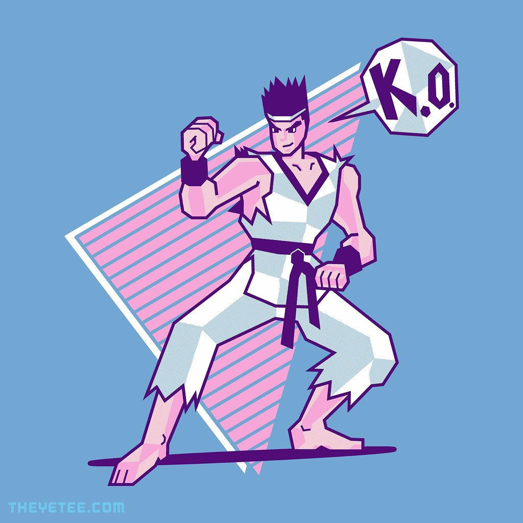 The Yetee: Neon Polygons
