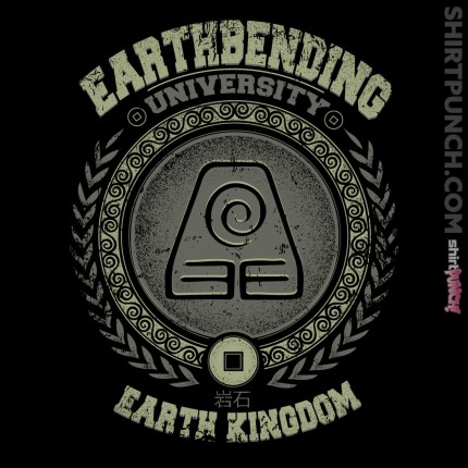 ShirtPunch: Earthbending University