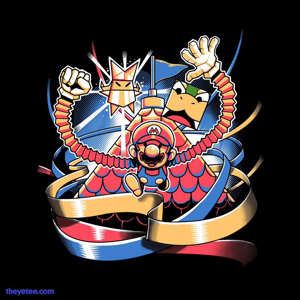 The Yetee: Let's Origami!