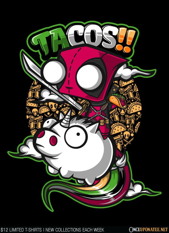 Once Upon a Tee: Tacos and Unicorns