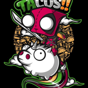 Once Upon a Tee: Tacos and Unicorns