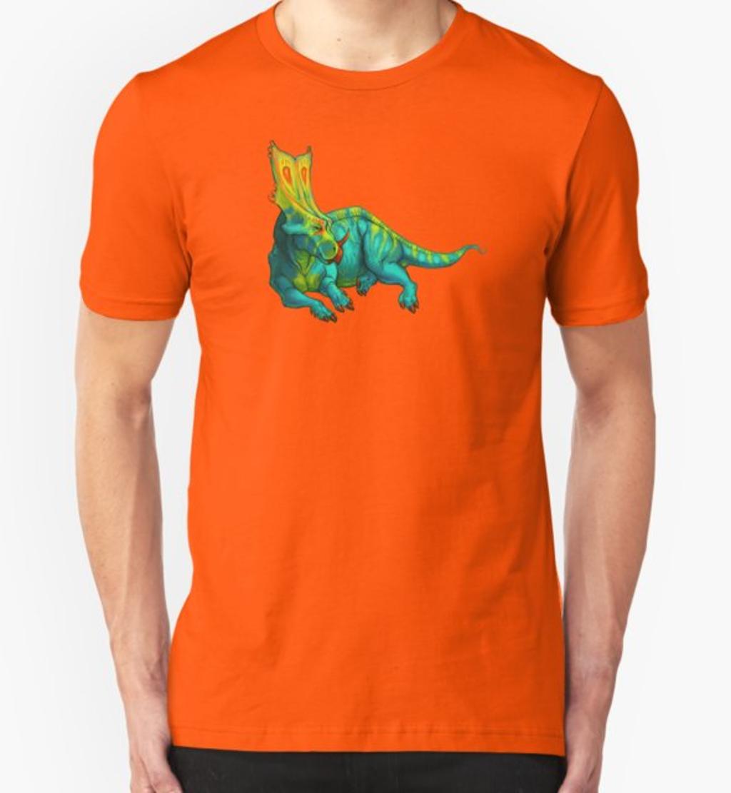 RedBubble: Chasmosaurus belli