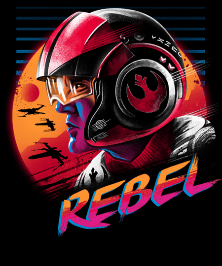 Qwertee: Rad Rebel