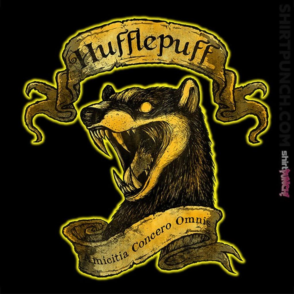 ShirtPunch: Hufflepuff
