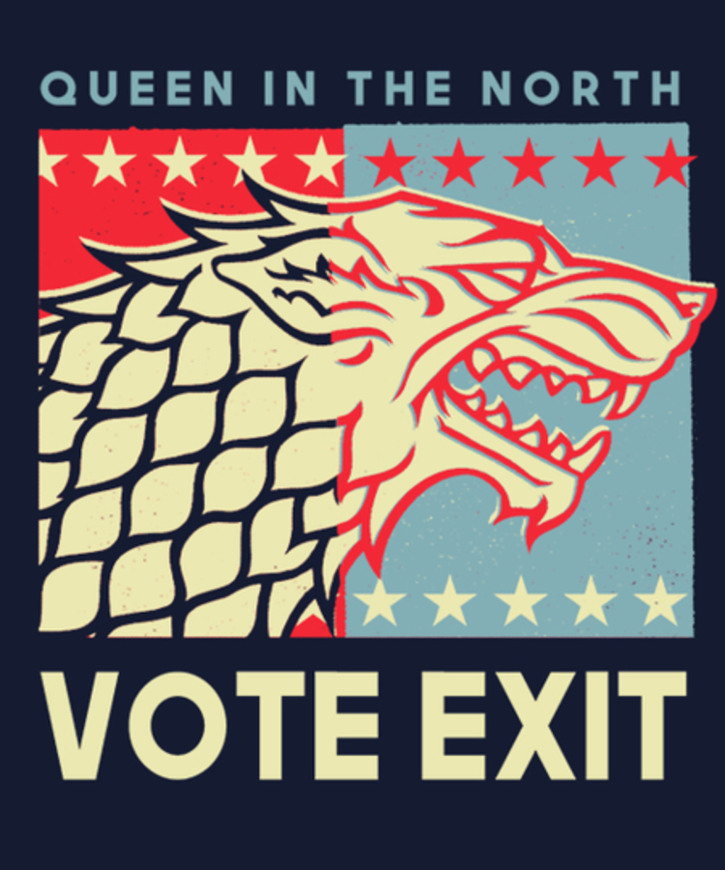 Qwertee: Queen in the north