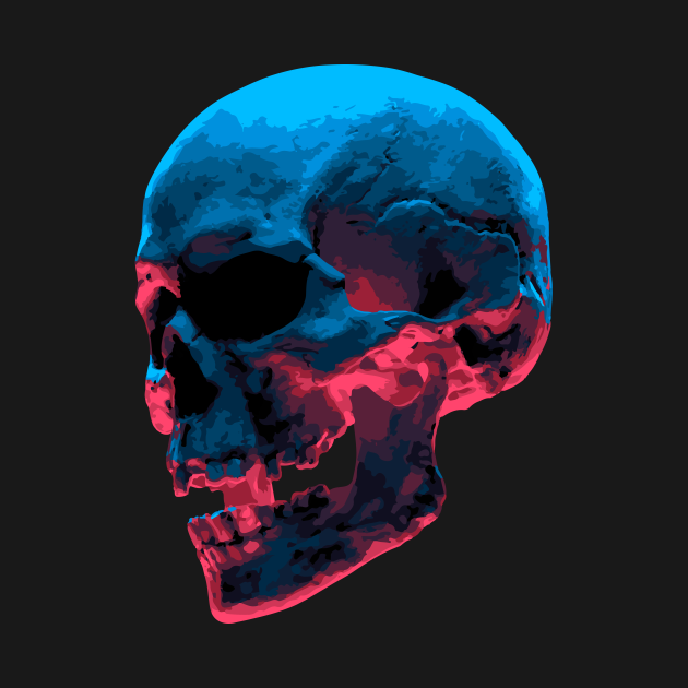 TeePublic: Skull