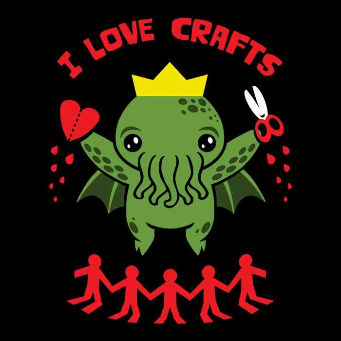 Once Upon a Tee: I Love Crafts