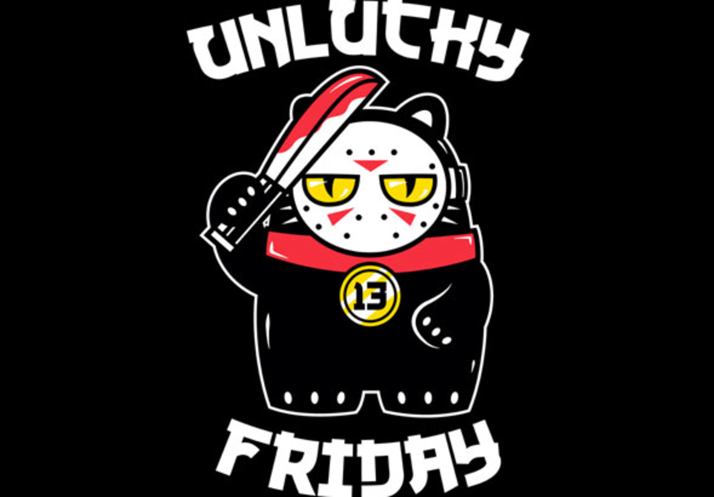 teeVillain: Unlucky Friday