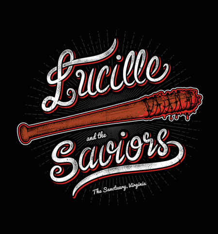 BustedTees: Lucille and the Saviors