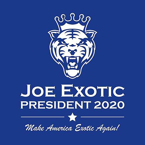 Five Finger Tees: Joe Exotic For President T-Shirt
