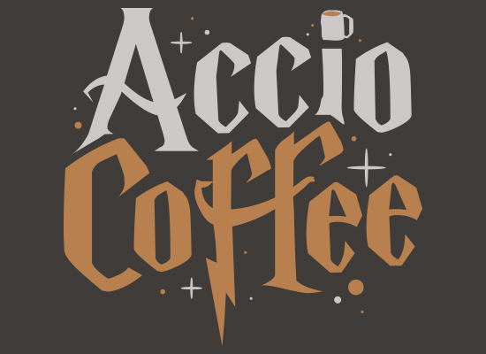 SnorgTees: Accio Coffee