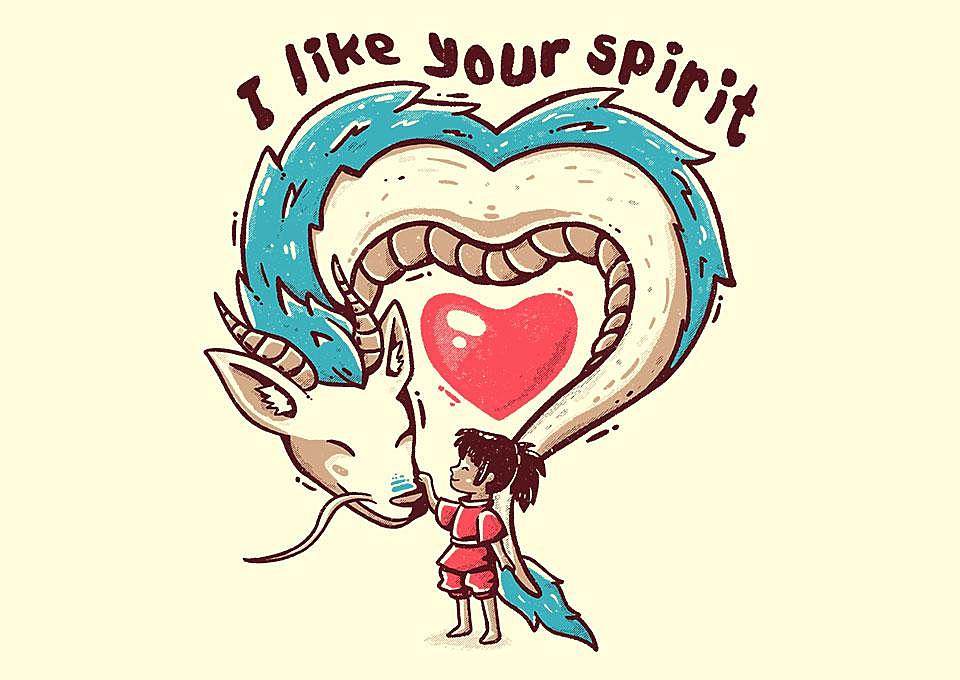 TeeFury: I Like Your Spirit