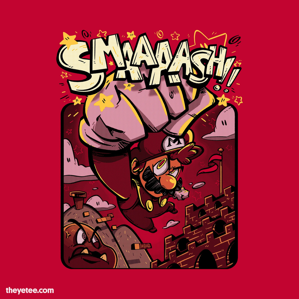 The Yetee: The SMAAAASH!! Brother