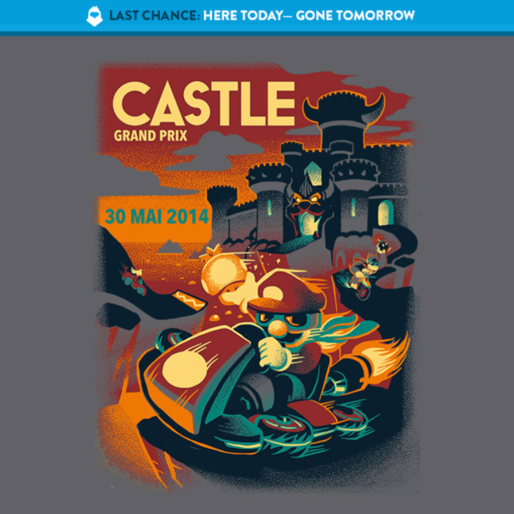 The Yetee: LAST CHANCE: Castle GP