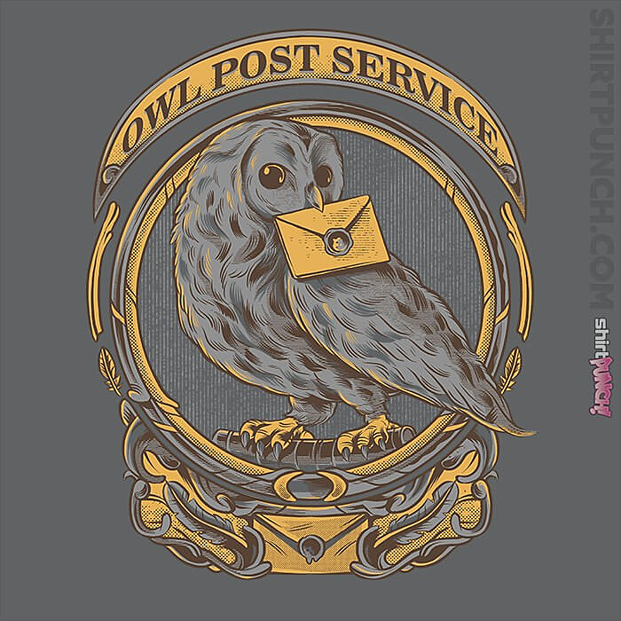 ShirtPunch: Owl Post Service