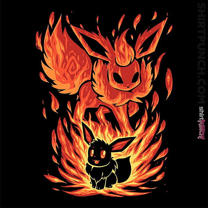 ShirtPunch: The Fire Evolution Within