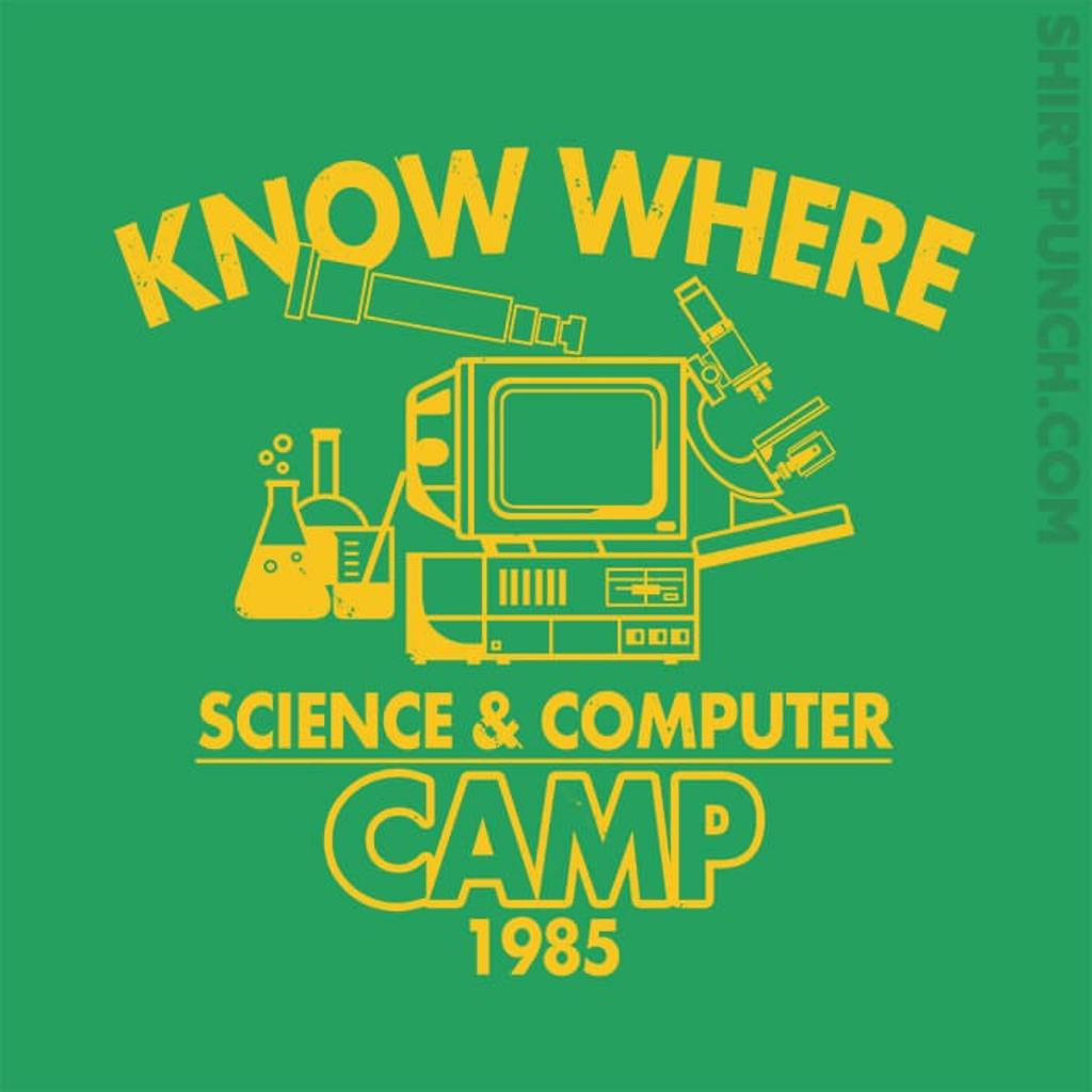 ShirtPunch: Know Where Camp