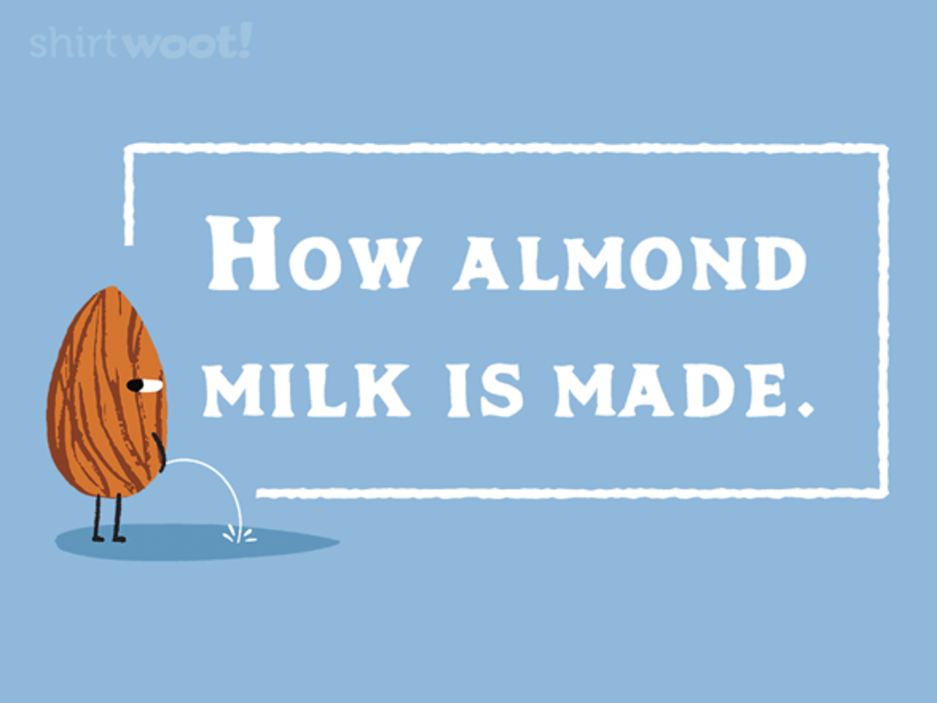 Woot!: How Almond Milk Is Made