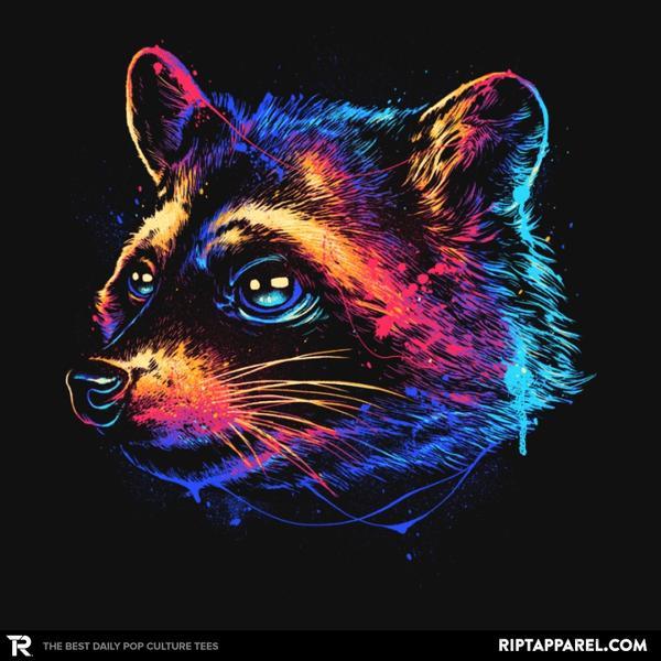 Ript: Colorful Raccoon