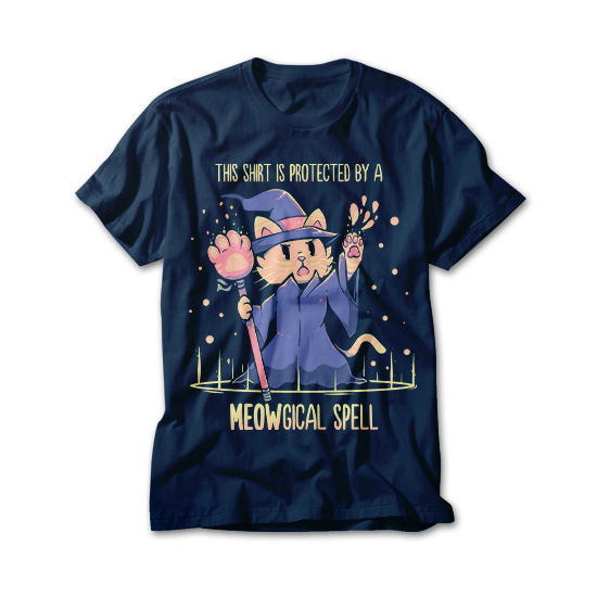 OtherTees: Meowgical Spell